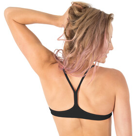 arena Play Bandeau Top Mujer, negro